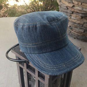 Cappicorn Newsboy Denim Cap Hat